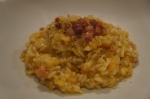 Butternut Squash Risotto with Sage and Pancetta