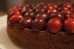 Chocolate, Orange and Cherry PolentaCake
