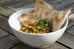 Yellow Split Pea and SpinachDal