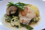 Tarragon Chicken and Spring Vegetable Casserole