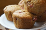Strawberry and Quinoa Muffins