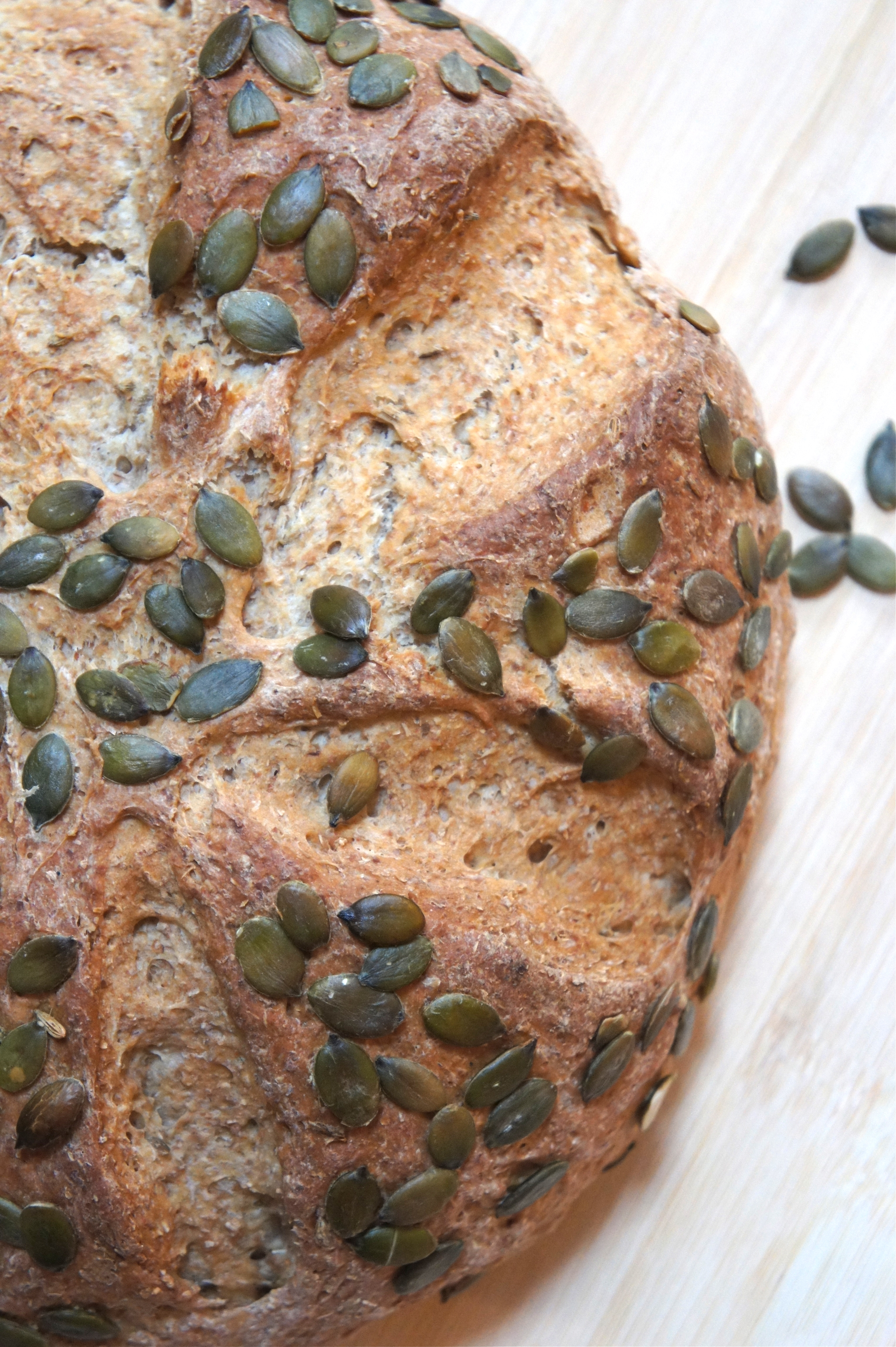 Scandi Rye Bread with Fennel and Pumpkin Seeds « Indulge & Devour